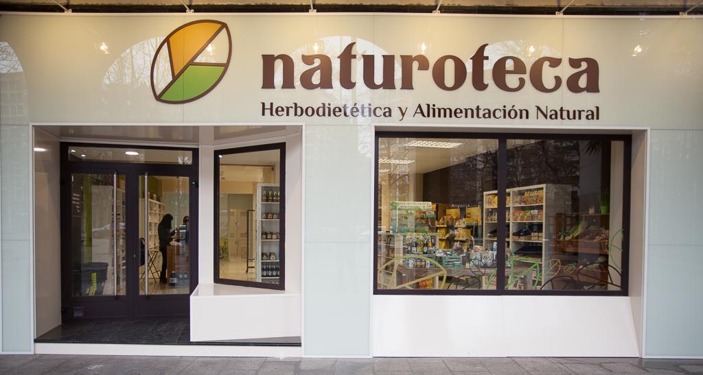 Fachada naturoteca